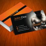 Bulgarian business card