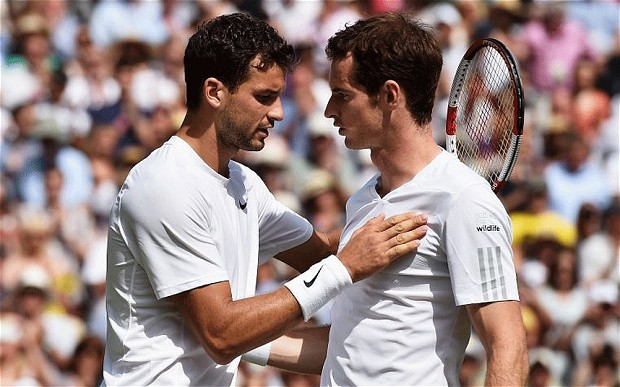 Grigor Dimitrov and Andy Murray